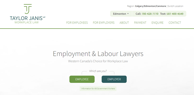 the #6 attorney website