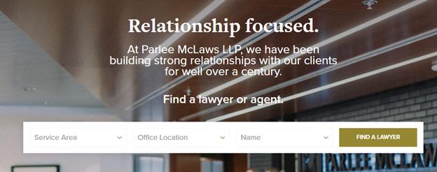 parlee mclaws website