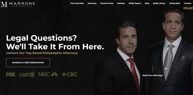the #1 best attorney websites