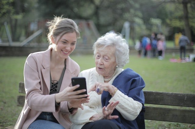 facebook is for senior population and the elderly