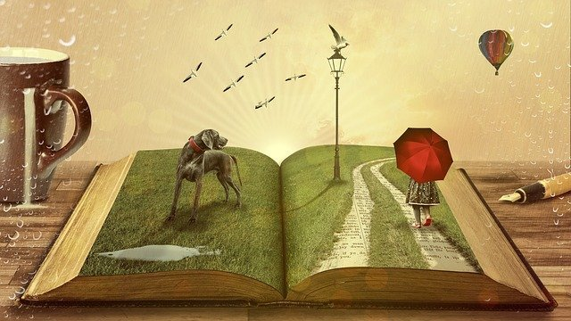 storytelling in marketing - how books and marketing relate