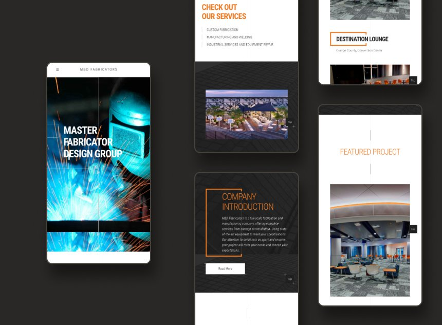 MBD Fabricators portfolio