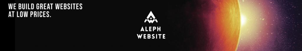 Aleph Website Image